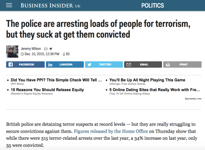 Business Insider Terrorism convictions
