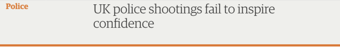 UK police shootings 1